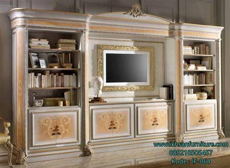 Lemari Hias Untuk Tv model lemari hias dan bufet tv mewah terbaru harga bufet tv ikhsan furniture jepara