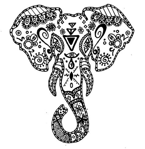 coloring pages for adults of elephants download elephant coloring pages for adults