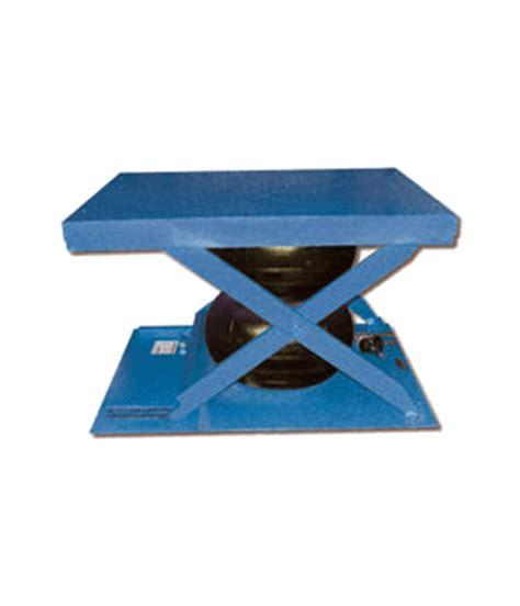 low profile mobile lift table vestil low profile air bag scissor lift tables factory