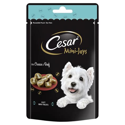 Cesar Beef 100g cesar mini joys treats cheese beef 100g at wilko