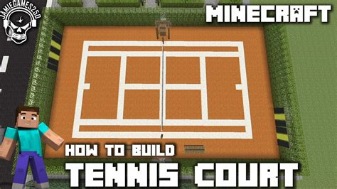 how to build a tennis court in your backyard tennis court minecraft building inc