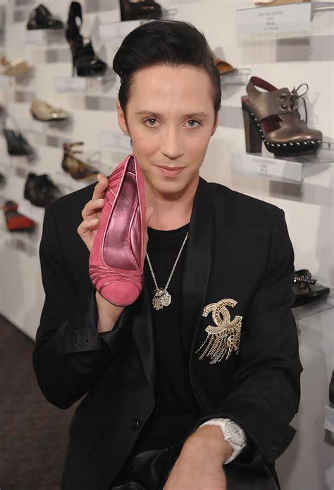Qvc Presents Ffany Shoes On Sale A Benefit For Breast Cancer Research And Initiatives by Johnny Weir Photos Photos Qvc Presents Quot Ffany Shoes On