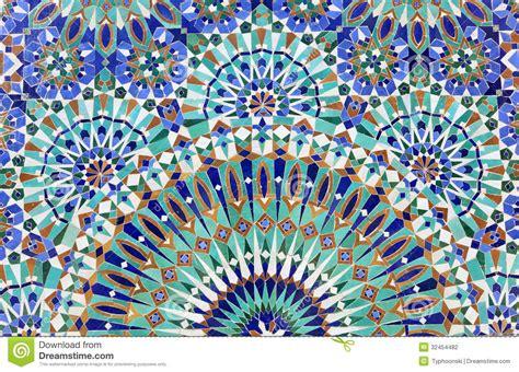 mosaico casa orientalisches mosaik in marokko stockfoto bild