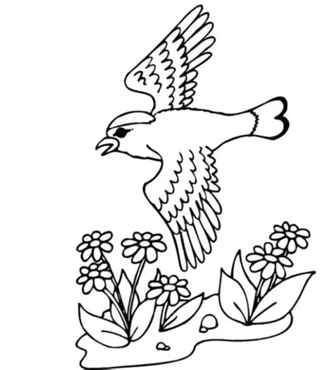 welcome spring coloring pages