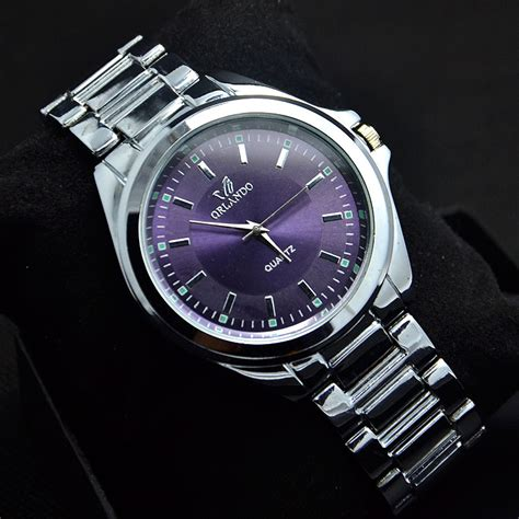 drop shipping new purple steel watches