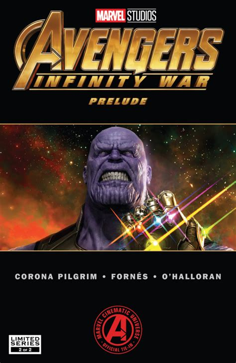 Marvel S Avengers Infinity War Prelude 2 Part Two Issue