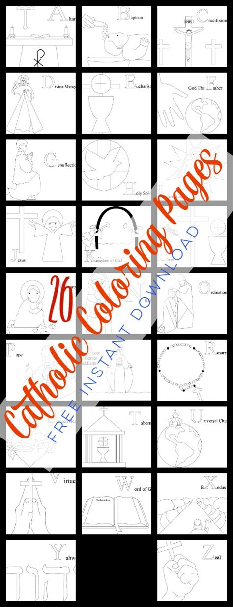 catholic abc coloring pages 26 free catholic coloring pages do small things with