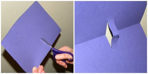 How To Make Things Pop Out On Paper - asma qureshi how to make a pop up book