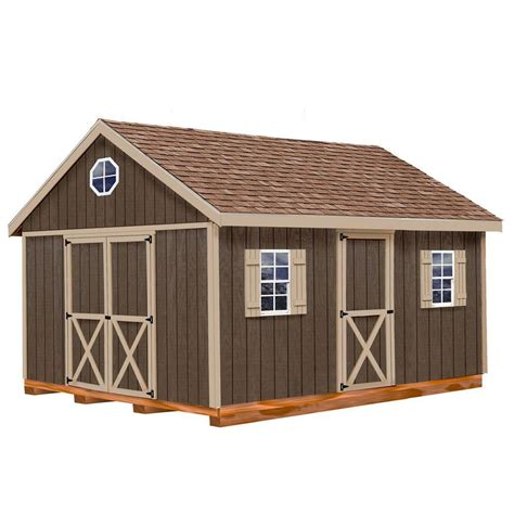 barns easton  ft   ft wood storage shed kit