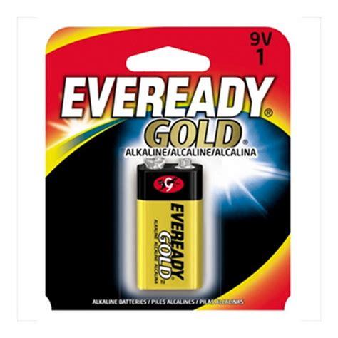 le 9v energizer eveready gold 9v 1