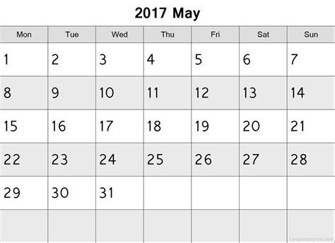 2017 Calendar Starting Monday October 2017 Calendar Starting Monday Free Calendar 2017