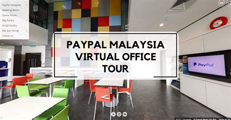 office tour 360 176 step aside paypal m sia has their own
