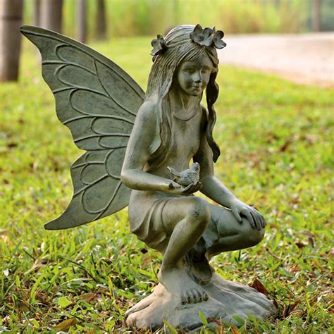fairy garden statues fairy garden sculpture eclectic garden statues and