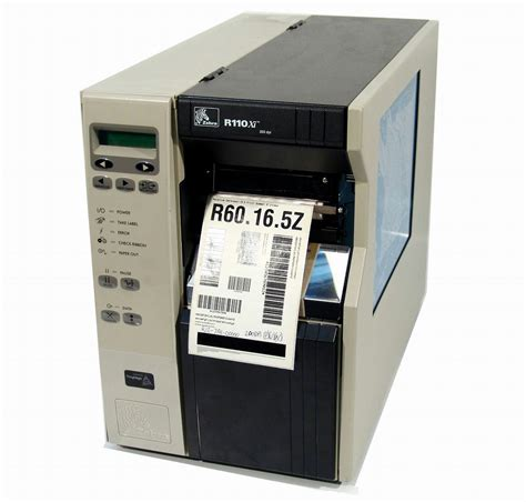 ebay zebra printers zebra r110xi r12 7a1 00000 label thermal printer ebay