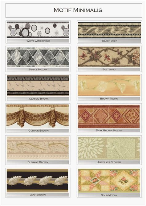 border wallpaper dinding bandung wallpaper border dinding katalog