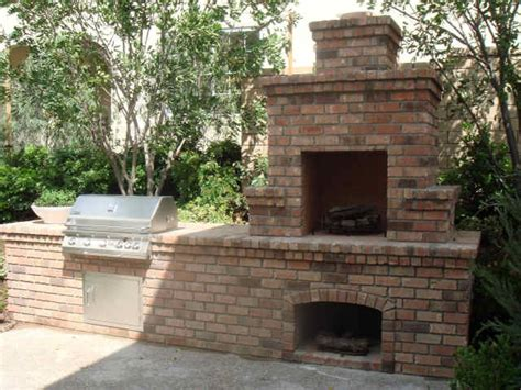 backyard bbq and fireplace for the home pinterest