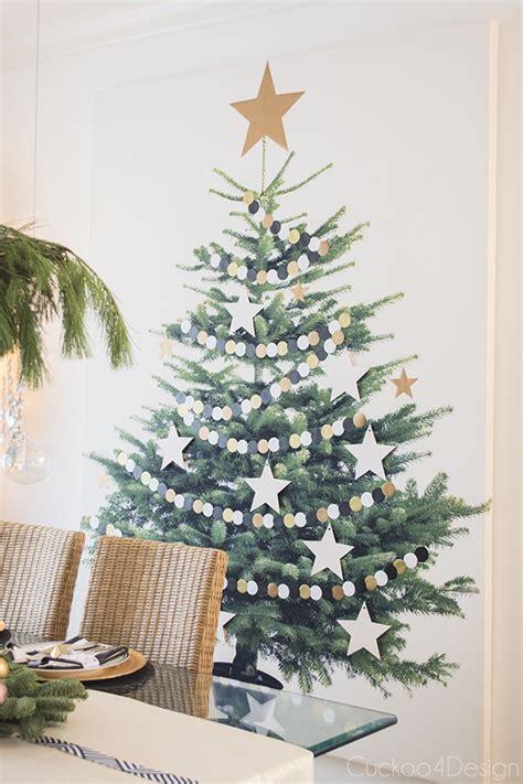 christmas home tour 2014 tree canvas ikea christmas