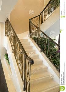 Home Design In Kerala by Stairs In The Modern House Stock Photo Image 12869980