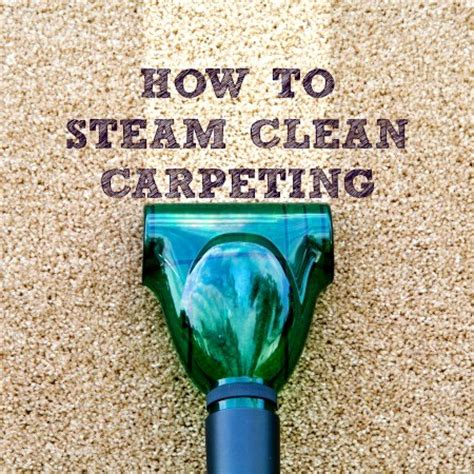 how to clean a rug without a steam cleaner how to steam clean carpeting how to s 174