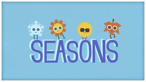 time of the season time quot four seasons quot the seasons of the year by storybots