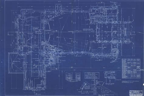 blue prints house blueprints