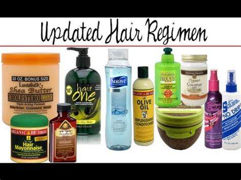 non relaxed hair care updated hair regimen products relaxed hair dec 2012