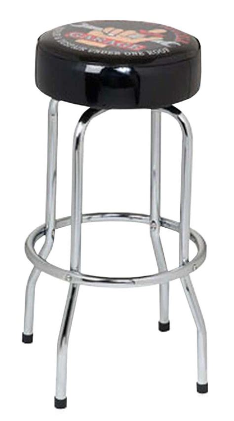 Garage Stools With Logos by The Busted Knuckle Garage 30 Quot Swivel Logo Bar Stool Bkg