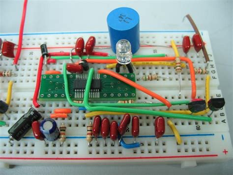 circuit on breadboard building circuits the of breadboards