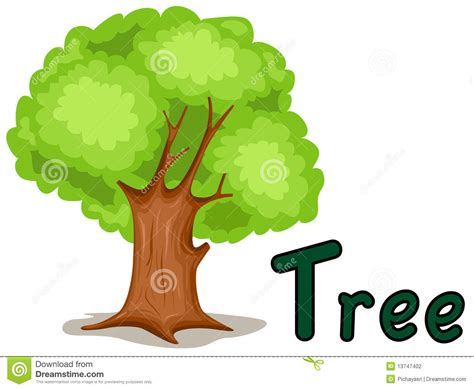 t is for tree a letter of the week preschool craft alphabet t for tree stock vector illustration of drawing