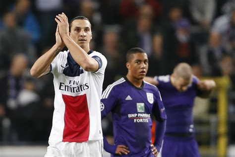 V B Calendrier De Lavant Psg Anderlecht Lavant Match Football Sports Fr