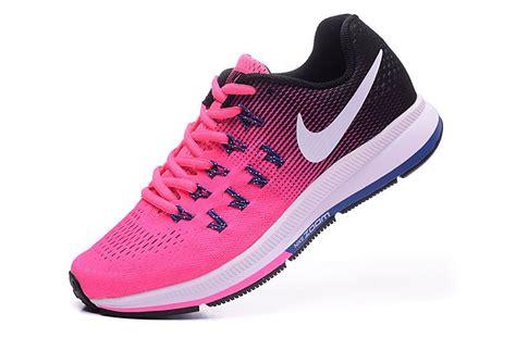 nike purple and black running shoes nike air zoom pegasus 33 s running shoe pink blast