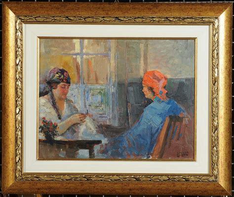 casa d aste boetto giulio boetto 1894 1967 donne che cuciono
