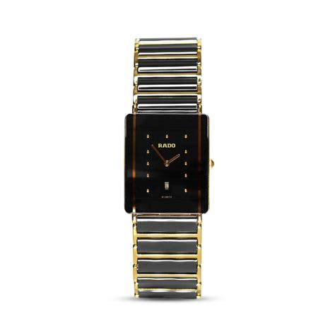 Preowned Rado Steel & Ceramic Diastar Men's Watch 160.0282.3
