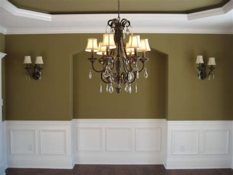 Dining Room Moulding by Custom Luxury Home Formal Dining Room Recessed Ceiling