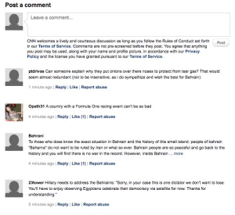 cnn comments section to be anonymous or not to be when to use your real name