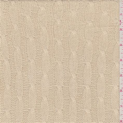 cable knit fabric by the yard golden beige cable knit 31838 fashion fabrics