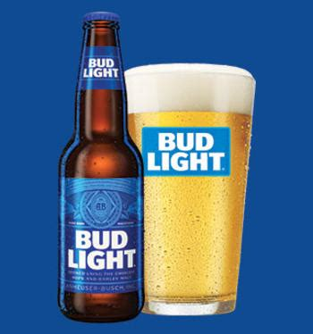 what percentage is bud light iron