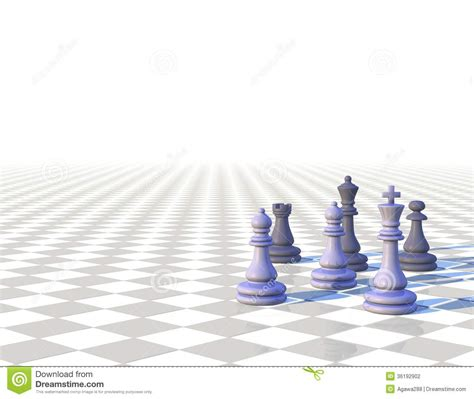 Floor Plans And Prices 3d Light Chess Background With Chess Pawns Stock