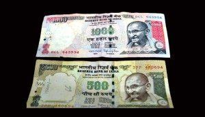 500 and 1000 rs notes imarticus government s move to demonetize rs 500 rs 1000 notes