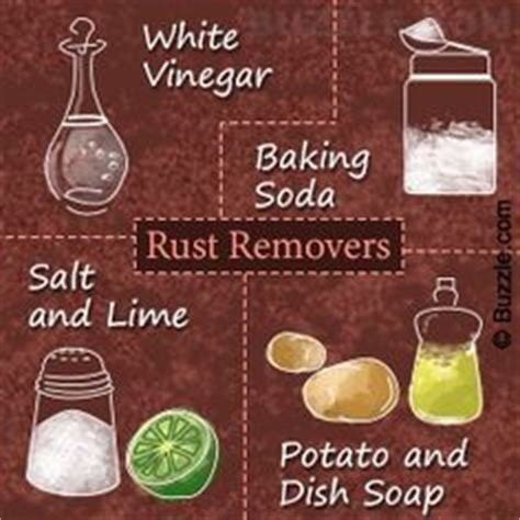 how to clean rust brass 25 best ideas about clean rust on rust removal magic win tip and magic supplies