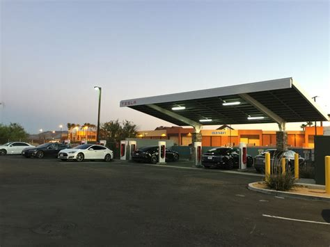 Tesla Gas Stations Tesla Superchargers Could Be Coming To A Gas Station Near You