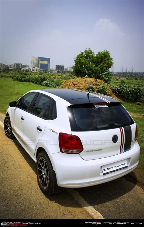 volkswagen polo black modified pics tastefully modified cars in india page 88 team bhp