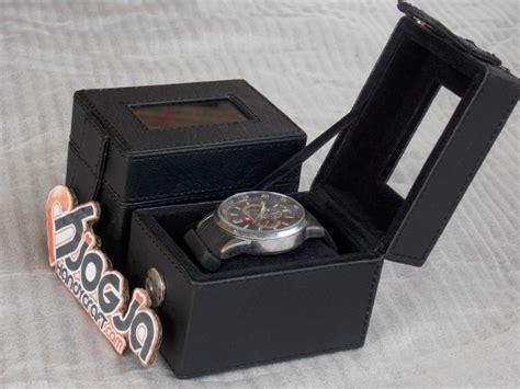 Kotak Jam Tangan Branded souvenir kotak jam tangan cantik vinyl isi 1 pcs