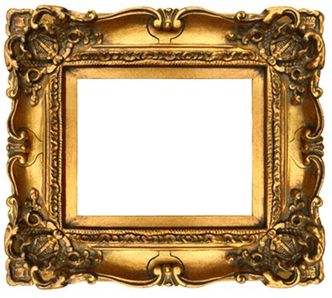 showcase your elegant side with gold picture frames in