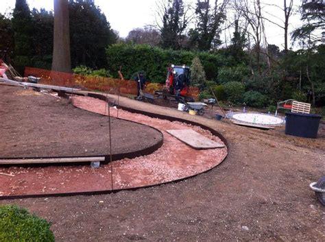 Landscape Edging Curved Everedge Steel Landscape Edging Is For Creating