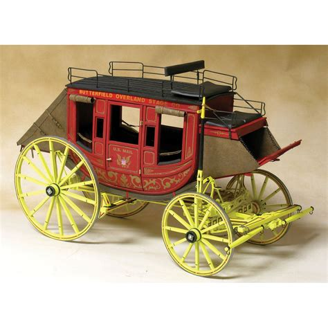 stage couch model trailways concord stagecoach 1 12 scale