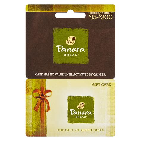 How Much Is On My Panera Gift Card - panera bread gift card balance gift ideas
