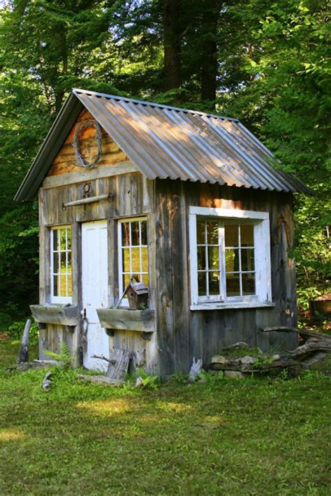 Shed Shack by S Cottage More Charming Garden Sheds