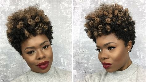 Hairstyle Tapered Wigs by How To Make A Tapered Cut Crochet Wig W Curlkalon