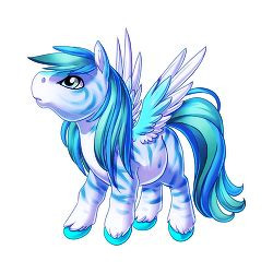 image fierce blue pegasus baby png valley of unicorns